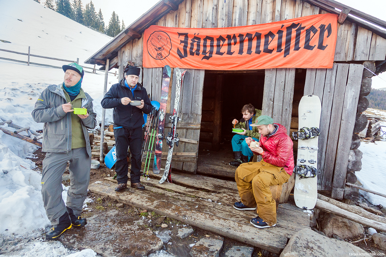 SAMURAIDERS backcountry camp 2018
